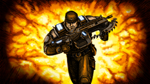 Gears of War 3 by Twisted-XP