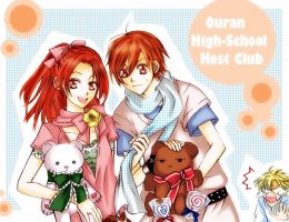 Ouran: Host Date by TsubasaNoUmi