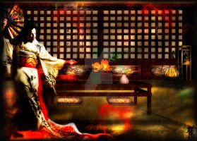 Geisha's Awakening by im1happy