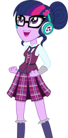 Twilight Sparkle - Listening to Music by CaliAzian