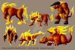 Sprite Fire Characters by DAA-TRUTH