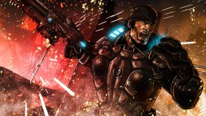 Gears 3 Wallpaper by Kenpudiosaki