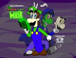Mario and Luigi the Mask Duel personalities by TimeLordParadox