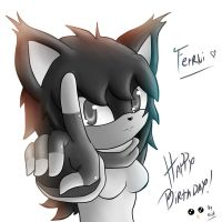 Happy Birthday Ferni21 by XdarkxkittyX