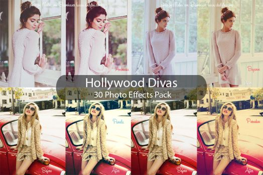 Hollywood Divas - 30 Effects Pack by zippy09
