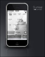 Surreal Concept iPhone theme by traance