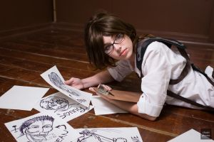 Hanji Zoe: Titan Notes by MeganCoffey