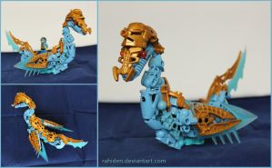 Bionicle MOC: Swanship by Rahiden