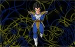Vegeta Abstract Wallpaper by Edalyne