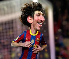 Lionel Messi - A Caricature Study by RodneyPike