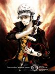 Trafalgar Law -Timeskip- by Akagami707