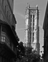 Saint-Jacques Tower by Nile-Paparazzi
