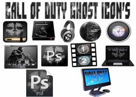 Call Of Duty Ghost Icons by yrod1980