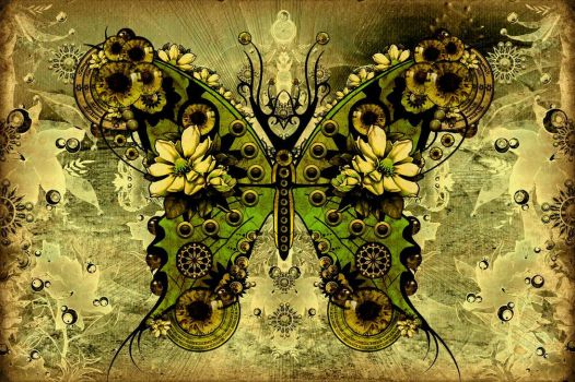 Butterfly version 5.0 .green. by Attave