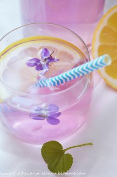 Spring violet lemonade by SunnySpring