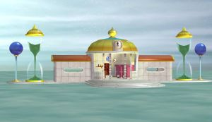Dragonball Stage (Hyperbolic Time Chamber) by jdavid6120