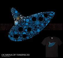 Ocarina of Timepieces - tee by InfinityWave