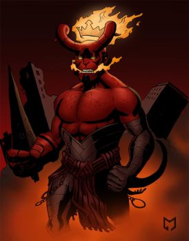 Hellboy the Beast by Mista-M