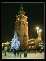 Night in Cracow - Before Xmas by Lady-CaT