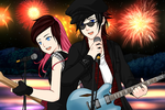 Vikki and Corvan by Rinmaru by neverb4