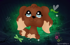 x|| Littlest Pet Shop Cocker Spaniel ||x by AgraelLPS