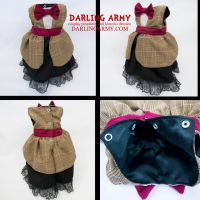 Baby Matt Smith Elelventh Doctor Who Dress by DarlingArmy