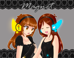 Magnet Collab with Alvi by Rumay-Chian