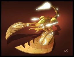 Annunaki Battletank by ravenwood0713