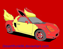 Toyota MR-S Flareon Edition by Sir-Genesis