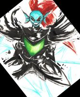 Undertale: Undyne the Undying by MoodySmeargle