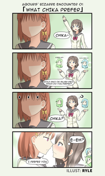 Love Live 4Koma by Ryle-chan