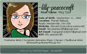 Manga Face ID by lilly-peacecraft