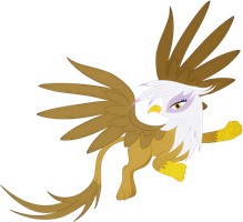 Gilda the Griffon by Elsdrake