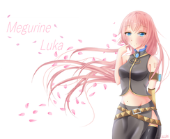 Megurine Luka by CuteNerdChick