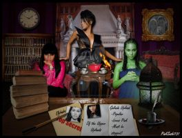 Morrible's Office by PinkSushi131