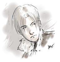 RE4 - Leon Kennedy by Ammosart