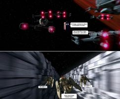 Doctor Who / Star Wars - Dalek Crucible Assault by DoctorWhoOne