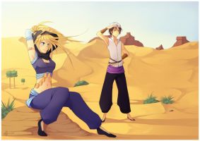 Commission - Sandjune by Uberzers