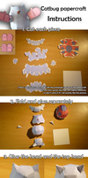 Catbug papercraft (instructions) by MrQqn