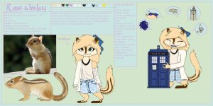 ArtTrade: Reference sheet Rose itshisonlygirl by Amy1Jade2Wendy3