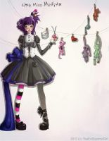 Little Miss Misfit - Digital 1 by Heather-Scribble