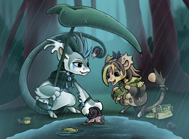 DTA: Frogs and Snails and Puppydog Tails by SageOfMagic