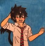 Rin Okumura by angry-toon-link