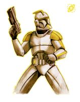 clone trooper by skinygalaxier