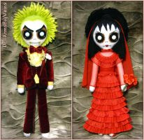 Beetlejuice Wedding by DollArmsBigVeins