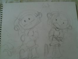 Numbuh 362/Rachel Sketches by Curlytop13