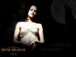New Moon poster fanmade by XxGoingBlindxX