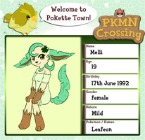 PKMN Crossing application by CrispyCh0colate