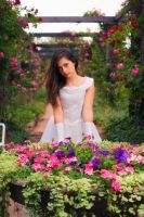 ... Floral Girl ... by Riot23