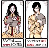 :Reading - Better lookingness: by Sk-bluu